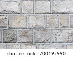 stone wall  background | Shutterstock . vector #700195990