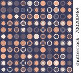 seamless geometric pattern with ... | Shutterstock .eps vector #700200484