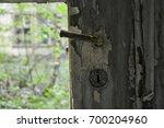 old door knob | Shutterstock . vector #700204960