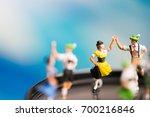 miniature people.bavarian man... | Shutterstock . vector #700216846