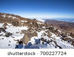 panorama view from volcano... | Shutterstock . vector #700227724