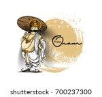 king mahabali   happy onam... | Shutterstock .eps vector #700237300
