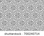 seamless black and white... | Shutterstock .eps vector #700240714