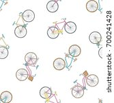 seamless pattern with hand...   Shutterstock .eps vector #700241428