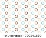 watercolor blue  beige and... | Shutterstock . vector #700241890