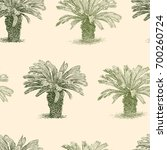 pattern of the small tropical...   Shutterstock .eps vector #700260724