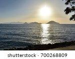 sunset    Shutterstock . vector #700268809