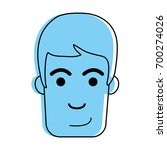 happy man face icon image | Shutterstock .eps vector #700274026