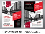 business brochure. flyer design.... | Shutterstock .eps vector #700306318