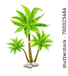Tropical Coconut Palm Trees ...