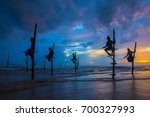 Silhouettes Of The Traditional...
