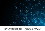 abstract connection dots.... | Shutterstock . vector #700337920
