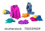 bright clothes fall to the... | Shutterstock . vector #700339009
