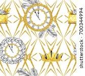 watercolor seamless pattern in...   Shutterstock . vector #700344994