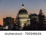 california state capitol... | Shutterstock . vector #700348636