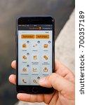 kaunas  lithuania   august 21 ... | Shutterstock . vector #700357189