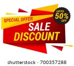 sale offer badge   illustration | Shutterstock .eps vector #700357288