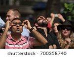 new york  ny   aug 21  ... | Shutterstock . vector #700358740