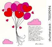 vector illustration of cute... | Shutterstock .eps vector #70039096