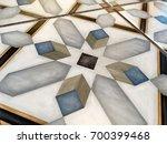 middle eastern tiles background. | Shutterstock . vector #700399468