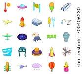 air navigation icons set.... | Shutterstock .eps vector #700406230