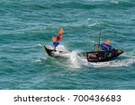 Small Vietnamese Fishing Boat...