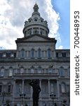 city hall in baltimore  maryland | Shutterstock . vector #700448953