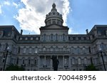 city hall in baltimore  maryland | Shutterstock . vector #700448956