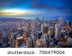 Chicago Skyline From Above...