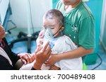 """asthma patient"" thailand  22... | Shutterstock . vector #700489408"