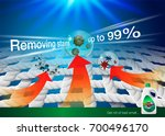detergent ads. zoom image... | Shutterstock .eps vector #700496170