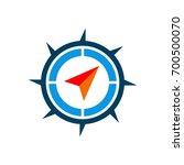 compass rose logo template | Shutterstock .eps vector #700500070