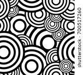 circle seamless pattern.... | Shutterstock .eps vector #700517260