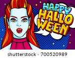 halloween illustration. vampire ...   Shutterstock .eps vector #700520989