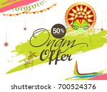 creative sale banner or sale... | Shutterstock .eps vector #700524376
