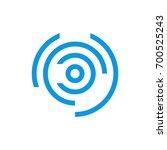 abstract circle logo template | Shutterstock .eps vector #700525243