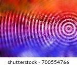 resonate  spread  vibration or...   Shutterstock . vector #700554766