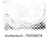 grunge halftone black and white.... | Shutterstock . vector #700558378
