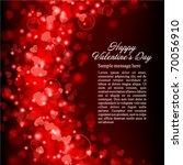valentine's day vector... | Shutterstock .eps vector #70056910