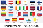 including the flag using the... | Shutterstock .eps vector #700573738
