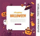 halloween background. vector...