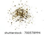 spice of black pepper isolated... | Shutterstock . vector #700578994
