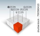 vector illustration of business ... | Shutterstock .eps vector #700580410