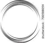 lines in circle form . spiral... | Shutterstock .eps vector #700588054