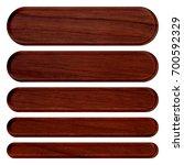 rich brown wood grain patterned ... | Shutterstock . vector #700592329