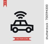 car vector icon illustration... | Shutterstock .eps vector #700594300