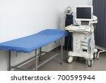 medical ultrasound machine in... | Shutterstock . vector #700595944