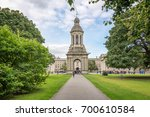 old bell tower at trinity... | Shutterstock . vector #700610584