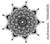 mandalas for coloring book....   Shutterstock .eps vector #700624030