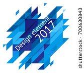 minimalistic design  creative... | Shutterstock .eps vector #700630843